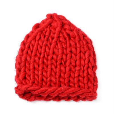 韩国hand made超粗手工针织编织毛线帽子秋冬保暖特粗