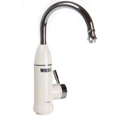 沃尔萨c1电热水龙头 即热式电热速热水龙头 厨房加热器速热水龙头(下