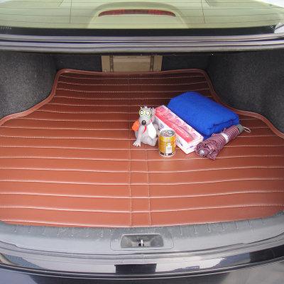 悠嘻猴 专车专用后备箱垫 皮革防水尾箱垫 汽车用品 定制型(商务棕